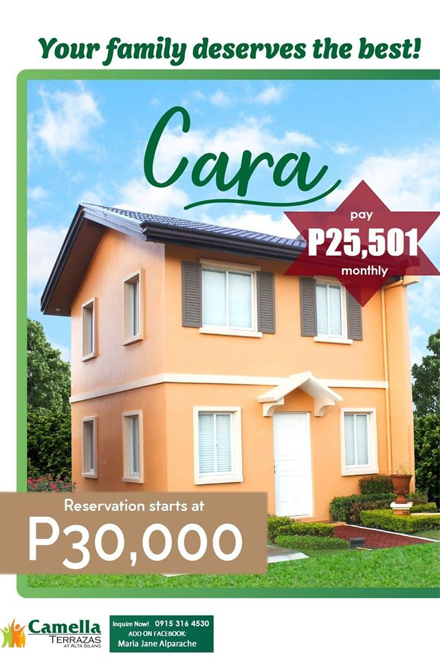 Cara by Camella Alta Silang Cavite