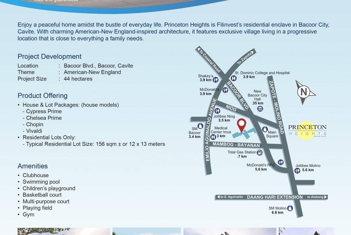 Chopin by Filinvest Location Map