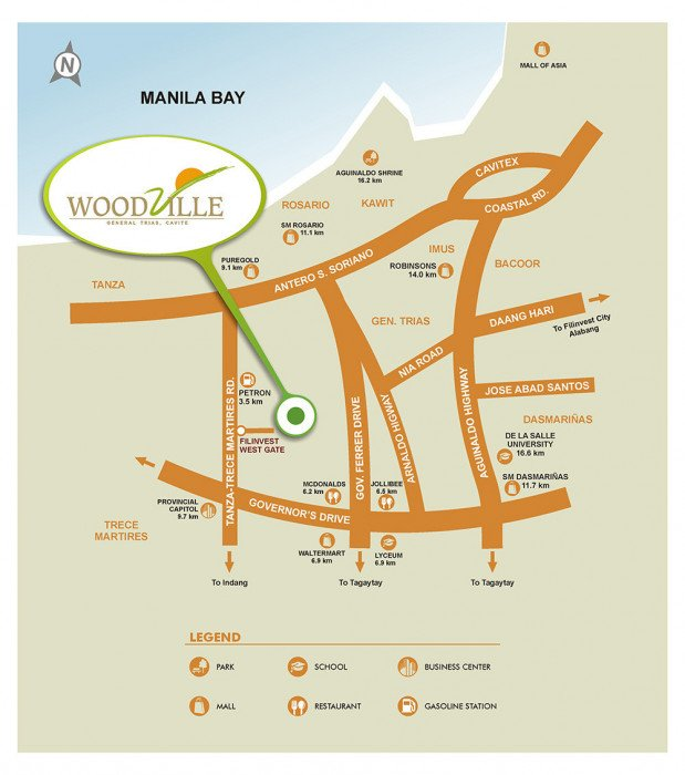 Location-Map-Woodville-General-Trias-Cavite-Futura-Homes-by-Filinvest