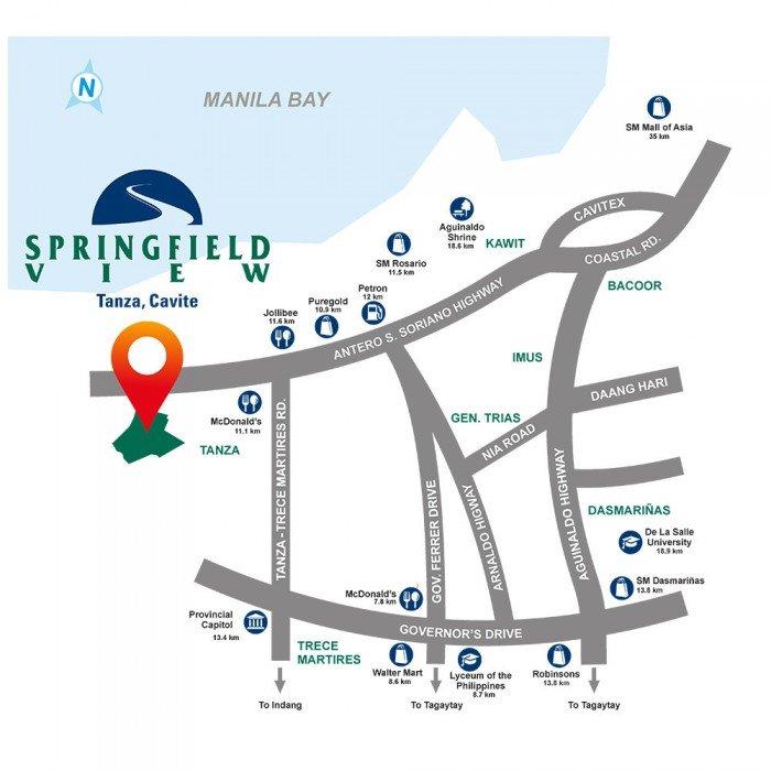 LocationMap-SpringfieldView-TanzaCavite-FuturaByFilinvest