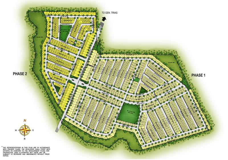 Site Development Plan - Meridian Place - Gen Trias - Futura by Filinvest