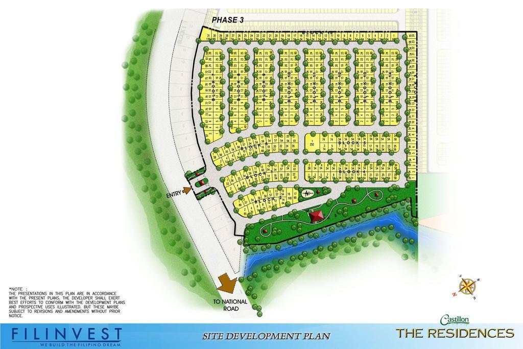 Site Development Plan Marina Spatial Dumaguete by Filinvest