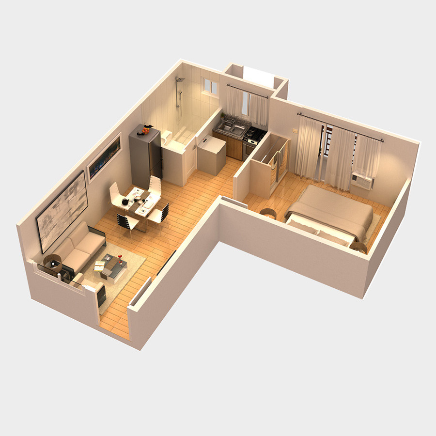 CondoUnit-1Bedroom-BaliOasis-MarcosHighway-BrgySantolanPasigCity-AspireByFilinvest