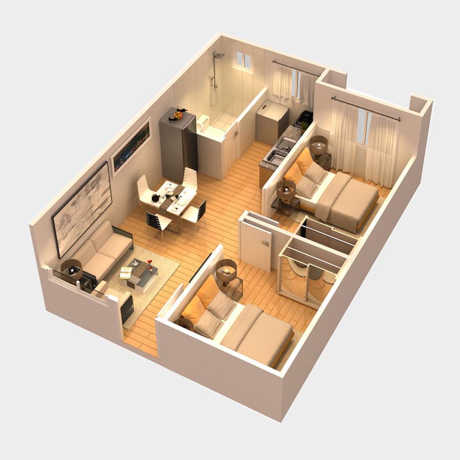 CondoUnit-2Bedroom-BaliOasis-MarcosHighway-BrgySantolanPasigCity-AspireByFilinvest