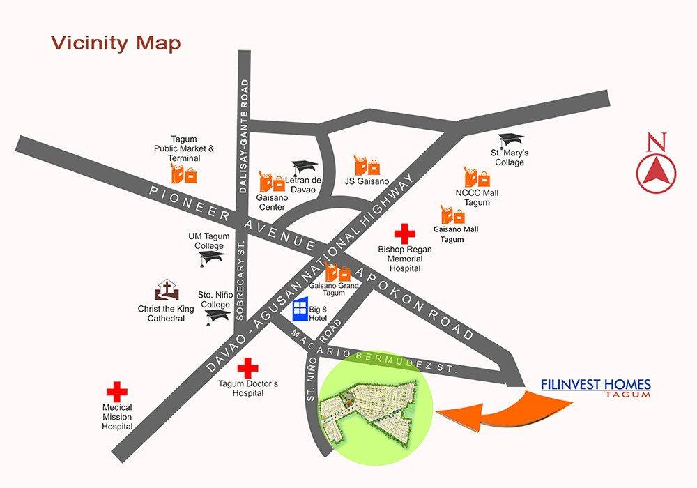LocationMap-FilinvestHomesTagumDavaoDelNorte-AspireByFilinvest